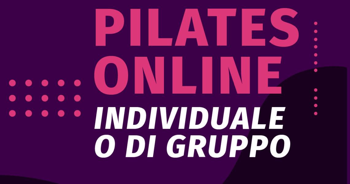Tornano le Lezioni di Pilates online!